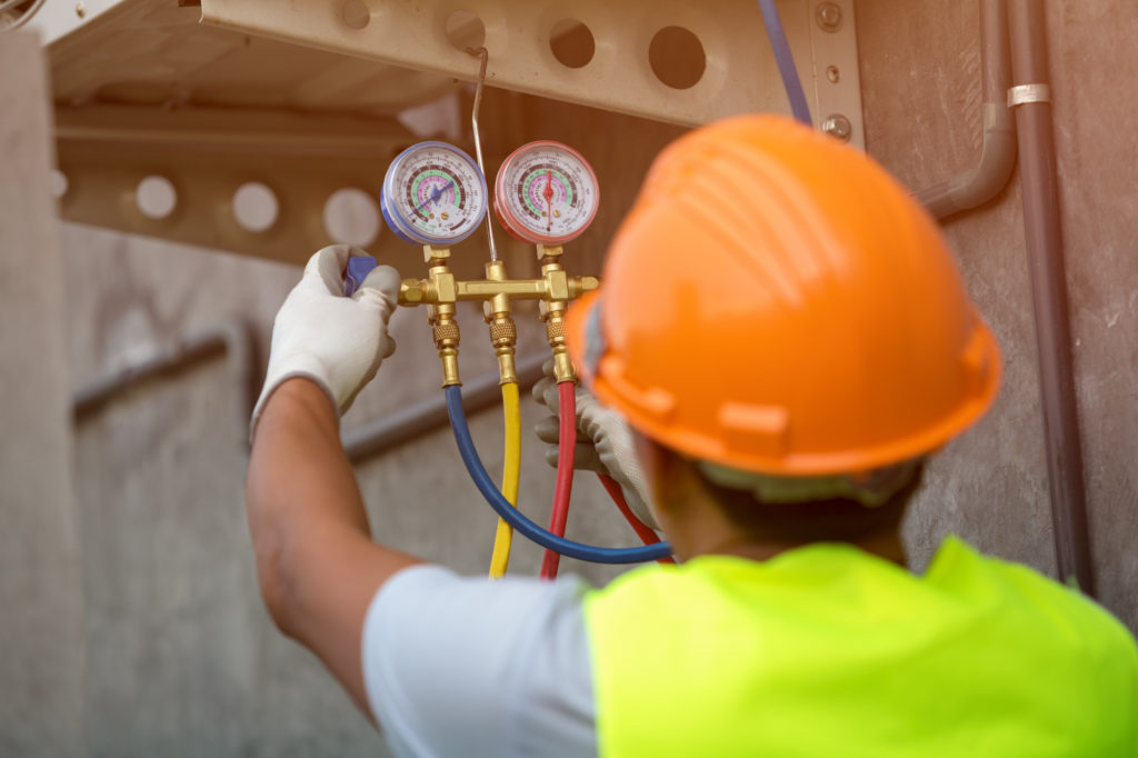 HVAC contractor in new caney tx